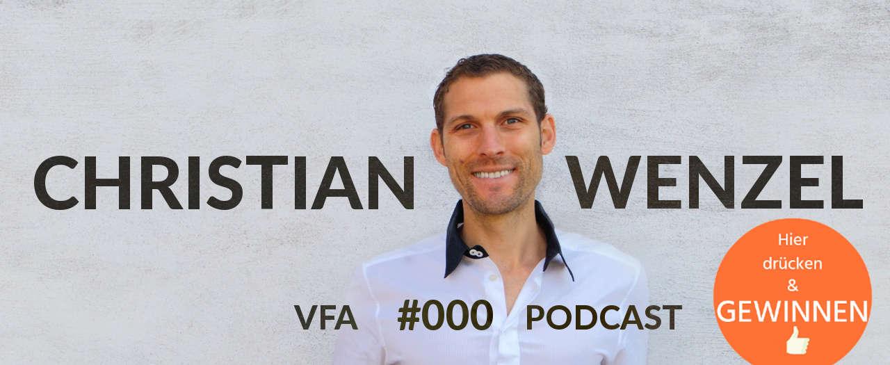 Christian Wenzel, veganer Fitnessexperte