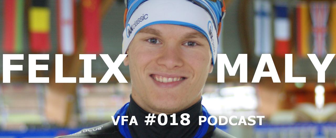 Eisschnellläufer Veganer Sport mit Felix Maly