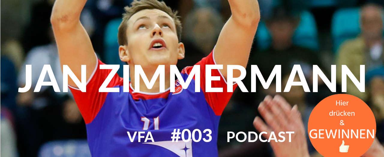 Jan Zimmermann Volleyball Nationalspieler in Deutschland