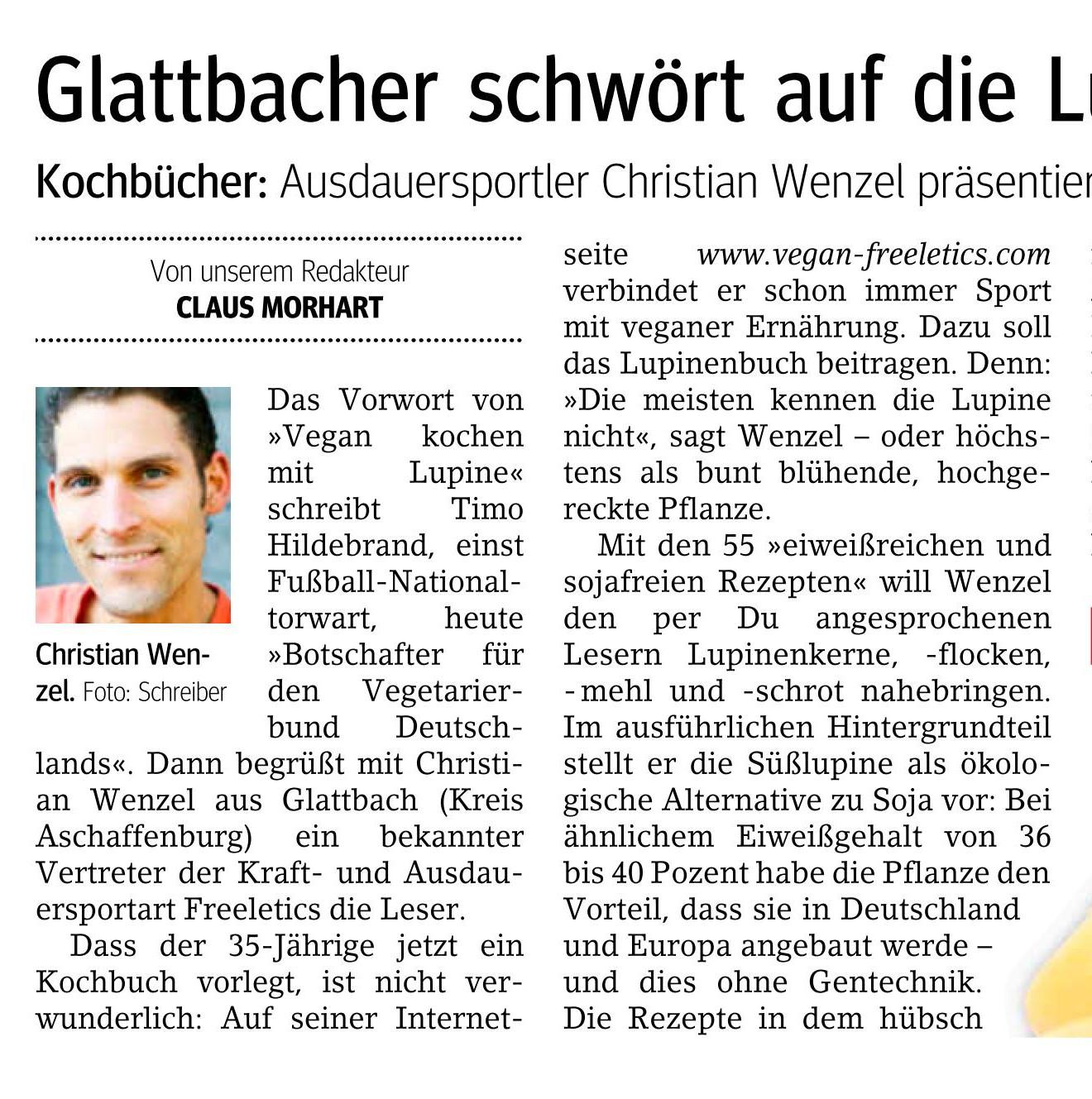 Artikel bei Main-Echo Aschaffenburg