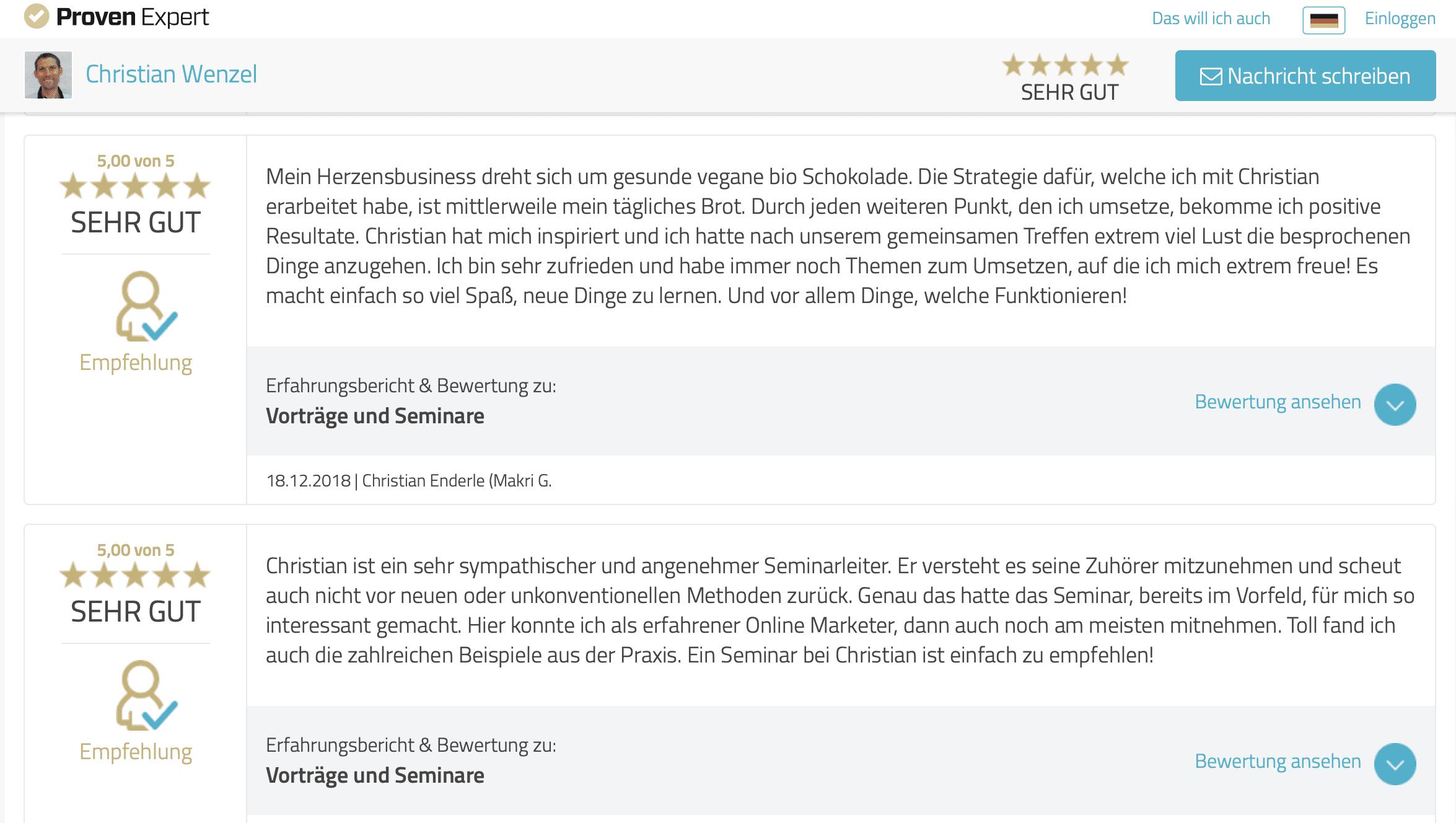 Christian-Wenzel-Bewertung2-ProvenExpert